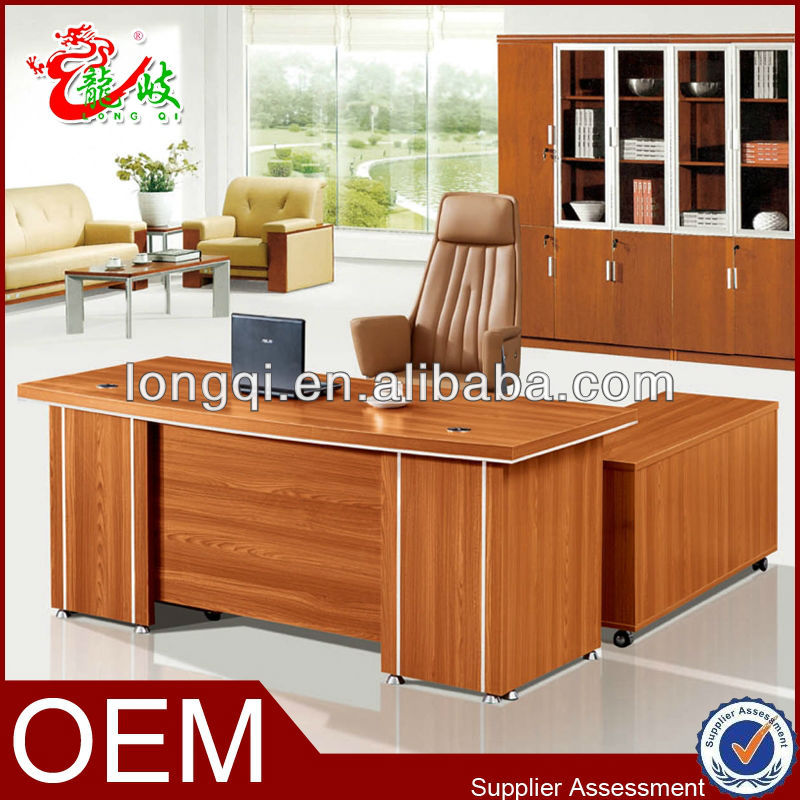 wooden executive table simple manager desk office furniture made in china M6520