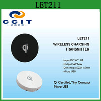 China Supplier Universal Wireless Charger QI LET211 for Mobile Phone