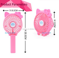 rechargeable mini usb outdoor indoor air cooling cartoon fan