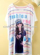 2012 hot sale style lady t shirt