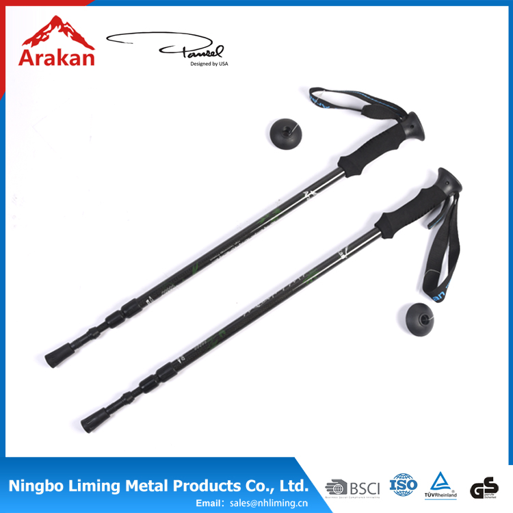 Wholesale cheap 247g soft EVA ,plastic rubber foot inner lock 3section bamboo walking stick