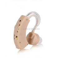 Battery Powered Sound Amplifier Hearing Aid for Hard of Hearing