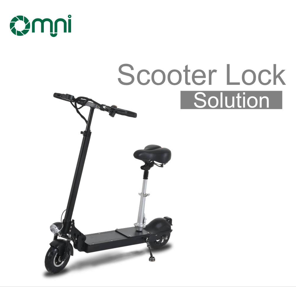 New solution anti-theft electric scooter adult smart lock E scooter controller lock for scan to ride with APP function