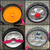 EVA foam wheel_ inflatable tire_ stroller wheel _ buggy wheel _ barrow wheel