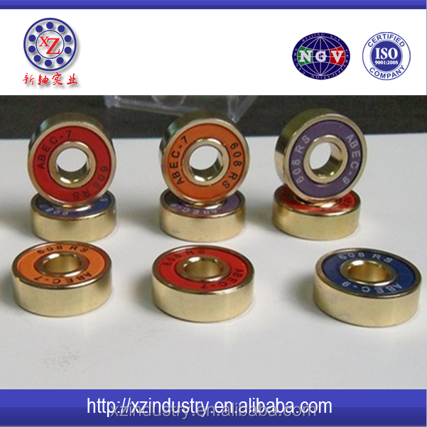 High Quality miniature 608 roller skate ceramic bearings in large stock