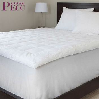 Luxurious Cheap Down And Feather Hotel Skin Friendly Mattress Topper