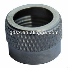 ROHS standard high quality knurled thumb nuts with collar