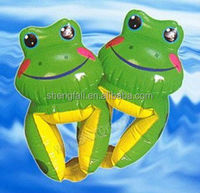 The baby love frog swim arm bands
