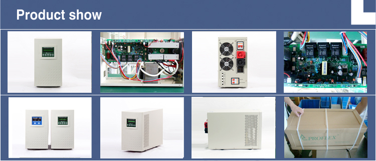 5000VA/4000W Low frequency pure sine wave power inverter
