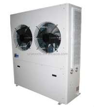 Air cooled condensing units used for mushroom growth