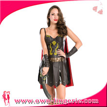 Adult women Sexy Gladiator women Fancy Dress theatre play Womens Warrior Costume convitcts