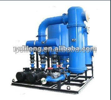 threaded pipe heat exchanger unit