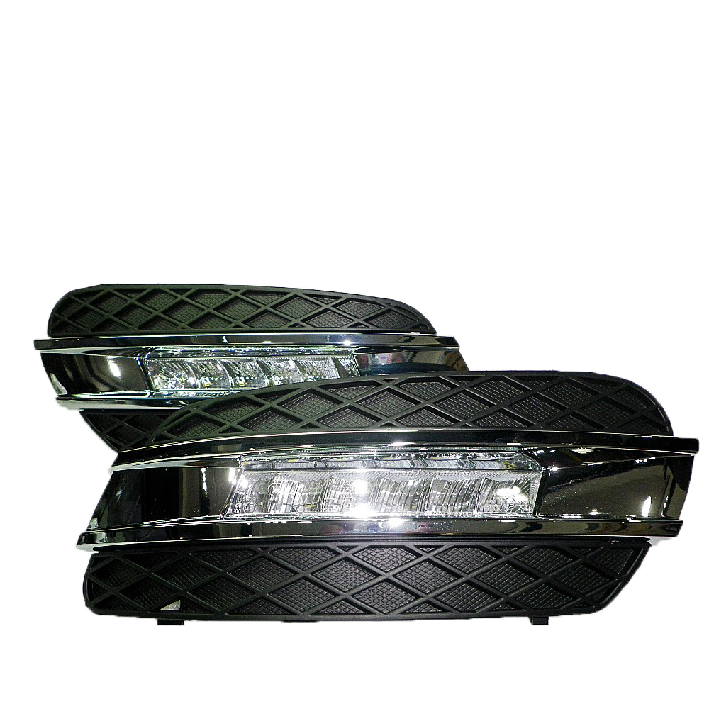 waterproof high power LED DRL daytime running lights used <strong>For</strong> <strong>Benz</strong> ML Class <strong>W164</strong> 2006 - 2009