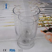 Factory supply fashion glass candle holder and lantern factory price