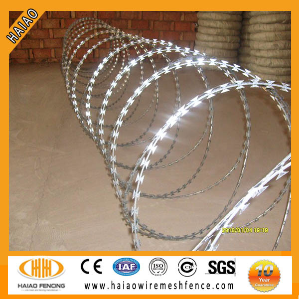 Razor wire with ISO certificate
