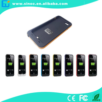 "li-polymer battery case for iphone 5,backup battery charger power pack case for 4.7"" iphone 6"