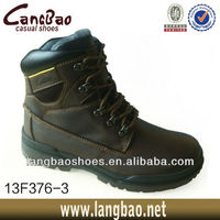 New design leather cheap winter man cheap high ankle military boots
