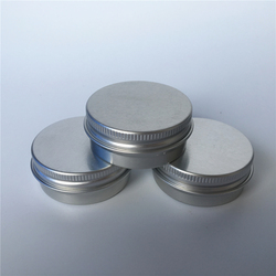 Whosale15ml Round Aluminum Tin Cosmetic Can Jar