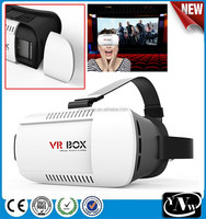 3D VR box phone virtual reality glasses, 3D VR headset glasses, wholesale price VR 3D glasses