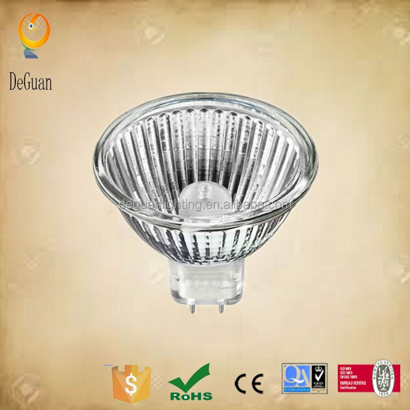 Flood lamp 120 Volt MR16 Frosted Halogen Light Bulbs 20 Watt MR16 Glass Face