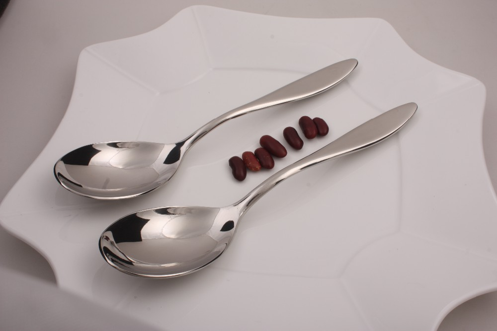 high grade forged mirror polish stainless steel spoon price
