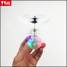 RC infrared Induction Helicopter Ball with crystal LED Shinning Flashing Lighting flying ball