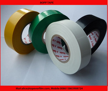 Eco friendly transparent packaging adhesive single sided 2 inch BOPP tape