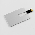 Aluminum Credit Card USB Flash Drive Custom Logo USB Business Card