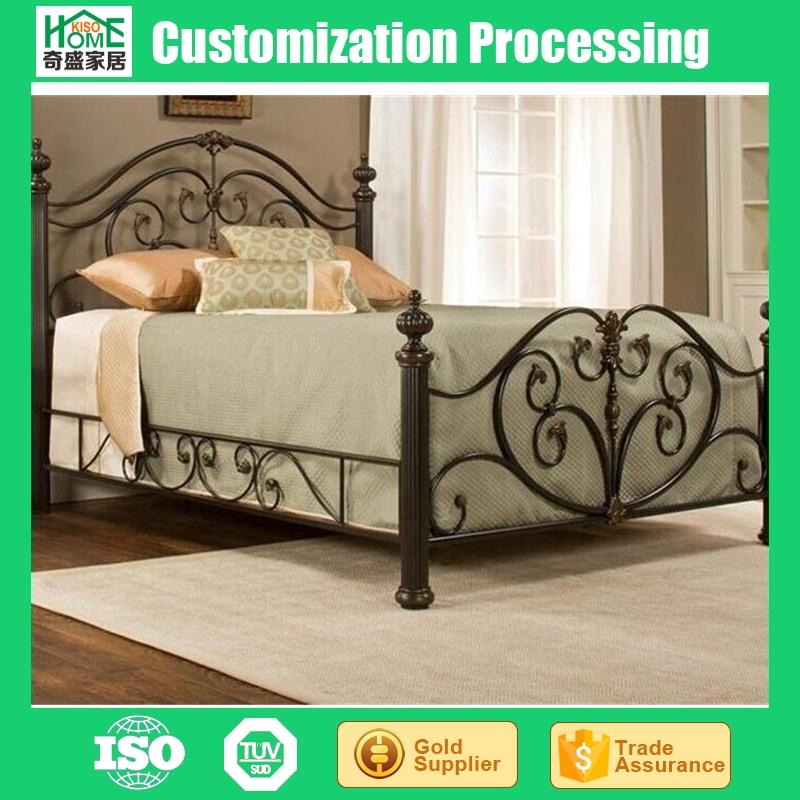 Antique Wrought Iron Beds for Sale, Adult Antique Folding Iron Bed