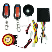 code learning motorcycle alarm system/security alarm for motorcycle