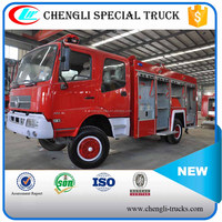 Dongfeng 4*4 Left Hand Drive 160hp 5000L Fire Fighting Foam Truck Five Vehicle