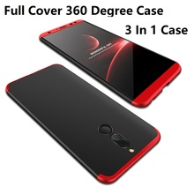 Hot Sales 360 Degree Full Body 3 In 1 Hard PC Cell Phone Back Case Cover For Huawei Nova 2i Maimang 6 Mate 10 Lite Honor 9i