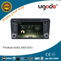 For Audi A3 auto parts android 4.4/5.1 2 din car dvd player with gps navigation