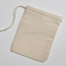 100% COTTON NATURAL MUSLIN DRAWSTRING BAG Sturdy and well-made re-usable tea bags and they work great