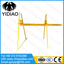 220V home four column track straight slide crane 300kg 30m car clutch hoisting straight straight out small crane
