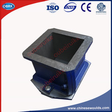 150mm Concrete Cast Iron Cube Moulds (L-Shape) 16Kg For Compression Testing Machine