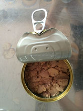 China Origin Canned Tuna Chunk in Soya Oil