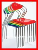2012 stackable outdoor ice cream shop plastic acrylic chair CNBM8006