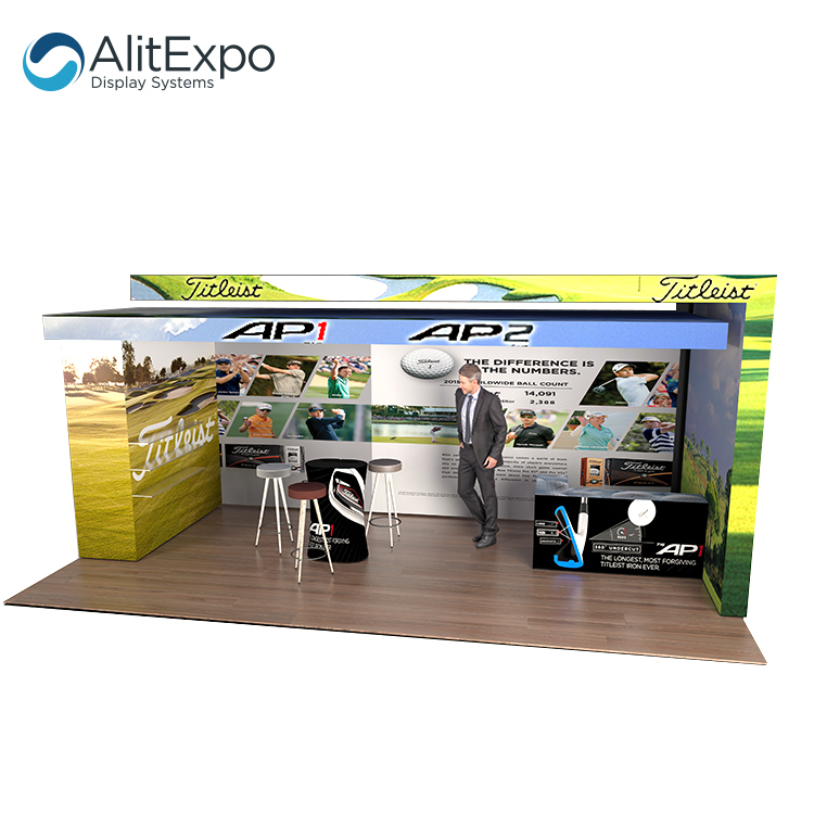 exhibition booth and stall design custom trade show exhibit booth