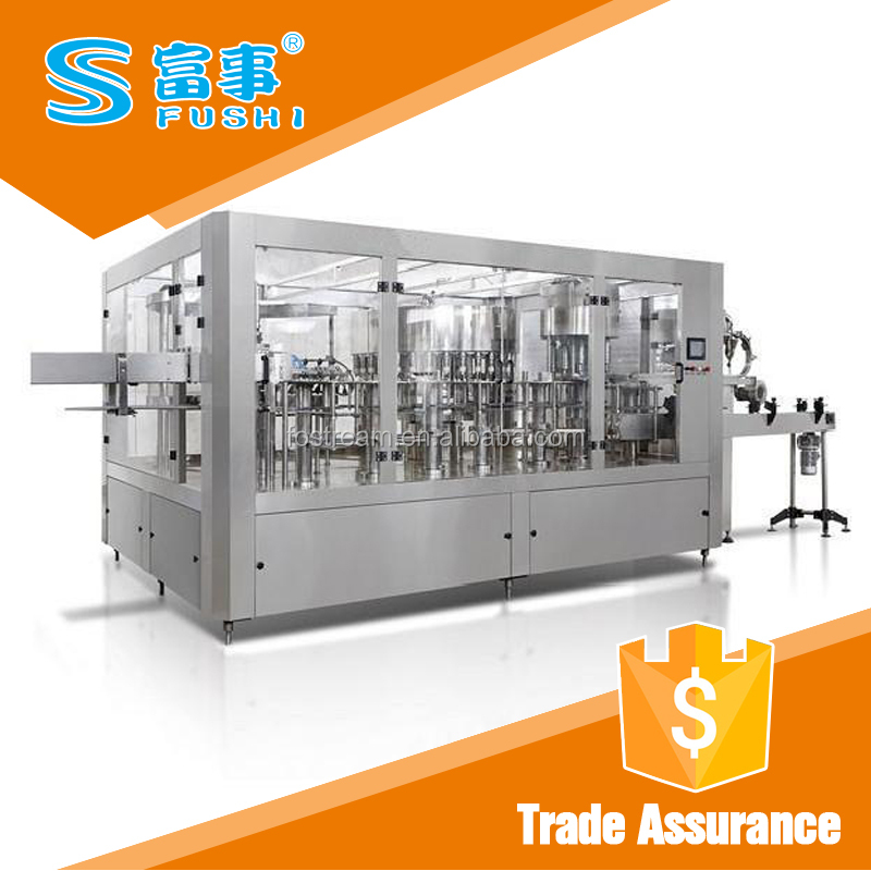 Full production line automatic mineral water plant machinery cost