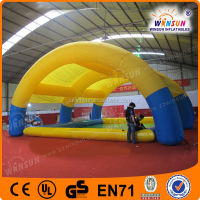 Commercial kids cheap inflatable swimming pool with roof