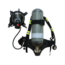 oxygen self-rescue respirator breathing apparatus