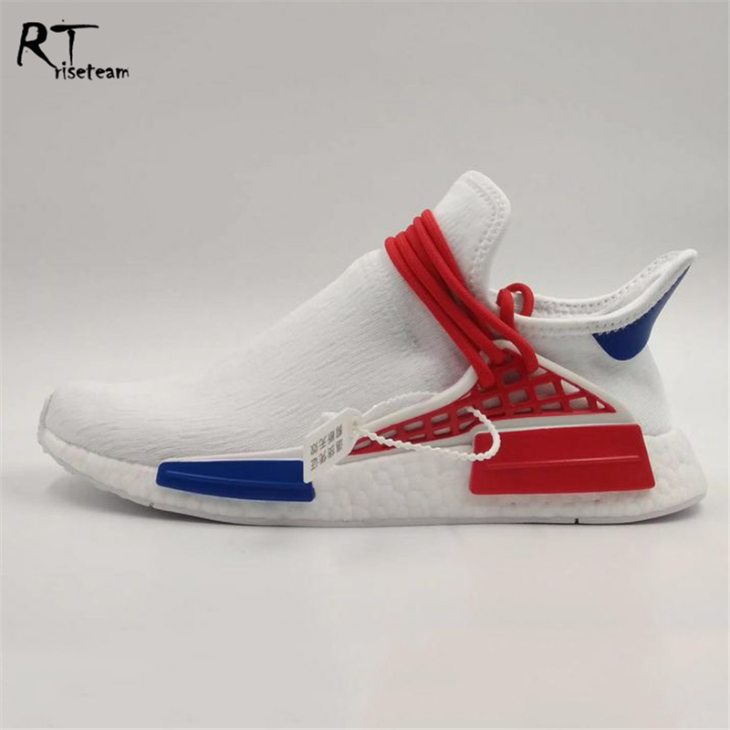 Wholesale Human Race Letter Sport Shoes Boost Men Sneakers Running Shoes Original Quality