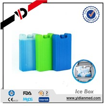 Hard ice pack/box for cool keeping