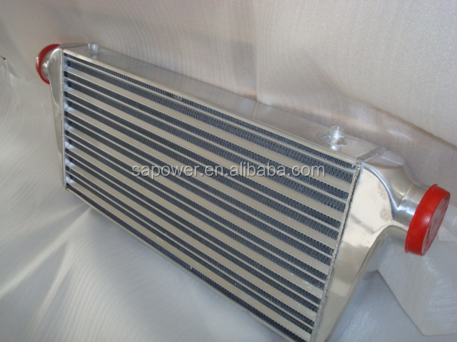 "600*300*76mm Universal Turbo Intercooler Turbo&Fin OD=3.0"" Front Mount intercooler"