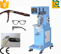 alibaba express dongguan sun glasses pad printing machine price for bulb pen lighter bottle pad printer LC-PM1-200