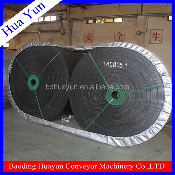 mine used EP conveyor belt,rubber polyster conveyer belt for sale