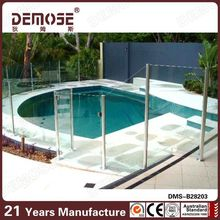 outdoor glass railings clamp for frameless glass railing