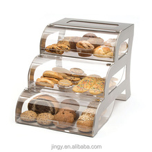 jingyue clear lucite cake cookie food counter display box