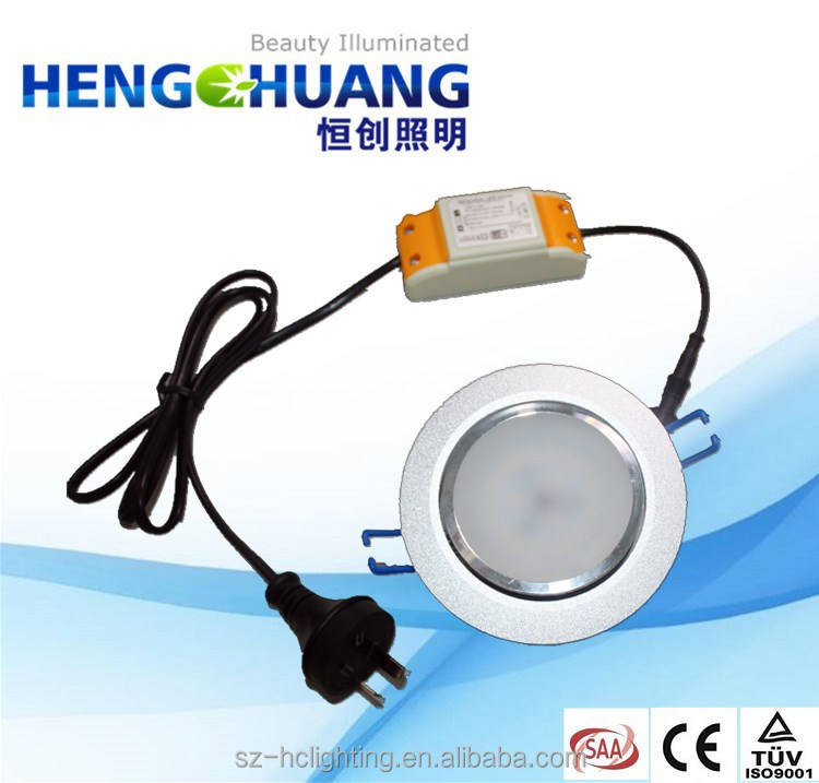 Dimmable led downlight components 12w Samsung SMD5630 CRI80 860LM